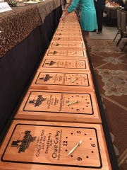 Plaques for Texas Girls Coaches Association coaches