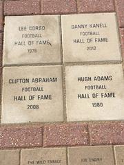 Clifton Abraham's marker.