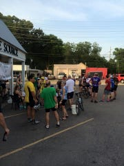 Back to School Night Out is hosted by the Bike Source