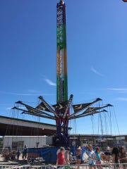 The Zoogvogel, seen at the Williamson County Fair on