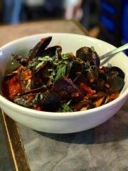 Mussels marinara at Ceno Grille in Cape Coral.