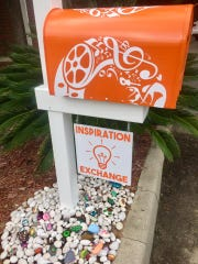 COCA's Inspiration Exchange is located outside its office.