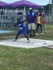 Kendrick Scott's K.J. in the USA Track and Field Regional