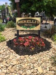Exterior shot of Merelli's Italian Restaurant