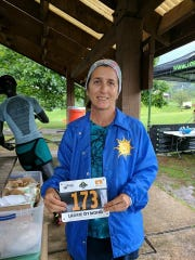 Chambersburg's Laurie Dymond, primarily known for her work on the road and track, took a step out of her comfort zone by competing in the Eastern States 100 in the Pennsylvania Wilds on Aug. 12. Dymond timed out of the race at 64 miles, but vowed to return to the race next year.