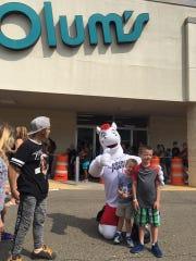 Olum's held a Kids Day on Saturday in Vestal.