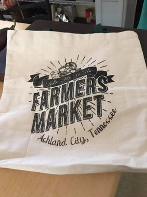 Make a purchase from a vendor Aug. 26 and receive a market bag or T-shirt.