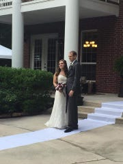 Julie Niethammer and Mark Choate were married Sept.