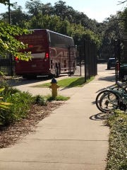 The FSU women's soccer team left for the University of Mississippi Saturday.