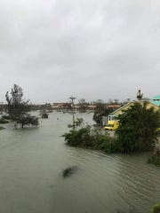 Damage from Hurricane Irma can be seen on Marco Island,