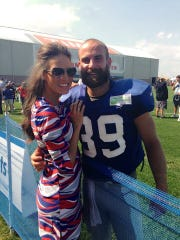 Tyler Sash often was in pain after practice, said Jessica VerSteeg, who was dating him during his playing days.