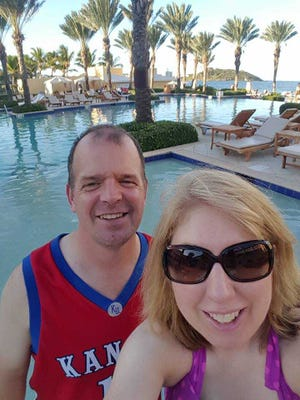 York County couple Bryan and Sandy Snead vacationed in St. Maarten earlier this month but Hurricane Irma had other thoughts on their family trip.