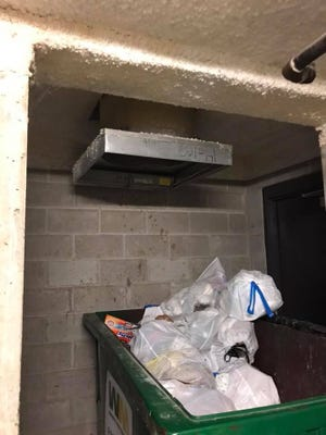 North Shore Fire/Rescue said Saturday that it helped rescue a man stuck in a trash chute at a Whitefish Bay apartment building.