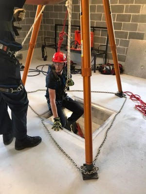 Dover Township Fire Dept. trains its volunteers to respond to house fires, car crashes, and other rescues. Dover Township Fire Dept. Facebook/photo
