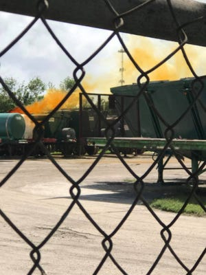 A chemical leak in the 3600 block of Selvitz Road, Fort Pierce, caused an evacuation Thursday afternoon.