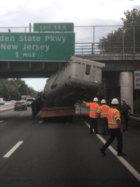 I-87 crash Hungry Hollow Road