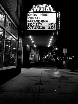 The Historic Howell Theater will host a ghost hunt led by the Portal Paranormal Society on Nov. 3-4.