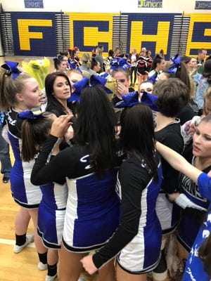 Fort Defiance won the Region 3C comp cheer championship and will compete in the state tournament this Saturday.