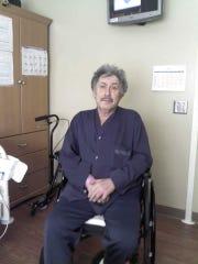 Alan Meisel, a disabled veteran of the Vietnam War,