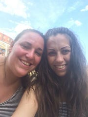 Kostadina Donnelly (left) and Amanda Economou were