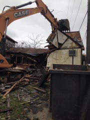 Demolition was the final outcome for the historic tavern,