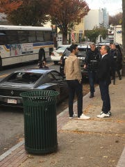 Comedians Jerry Seinfeld and Hasan Minhaj were spotted