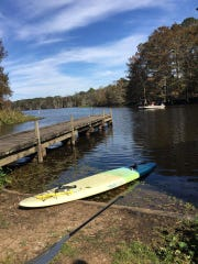 Chicot State Park attracts boaters, anglers and stand-up paddleboarders.