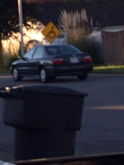 This car may have been involved in suspicious activity
