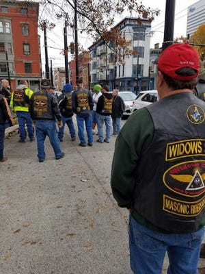 For the third consecutive year, members of Widows Sons Masonic Riders Association in partnership with Raising Cane's restaurants, are collecting winter clothing for the homeless with a special focus on veterans.
