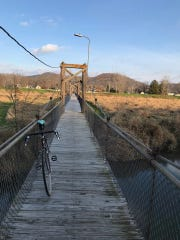 The Mapleside Footbridge in Richland Center has supplanted