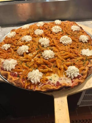 Penne a la vodka pizza was on the menu at Gemelli Bistro & Pizzeria in Barnegat, which closed this fall.