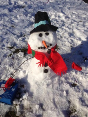 Brien's Services, Inc., will kick off its snowman contest in December.