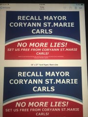 Brittany Spoke, a 29-year-old St. Francis resident for three years, has started a petition to recall Mayor CoryAnn St. Marie-Carls. She has submitted formal paperwork and has recall yard signs prepared.
