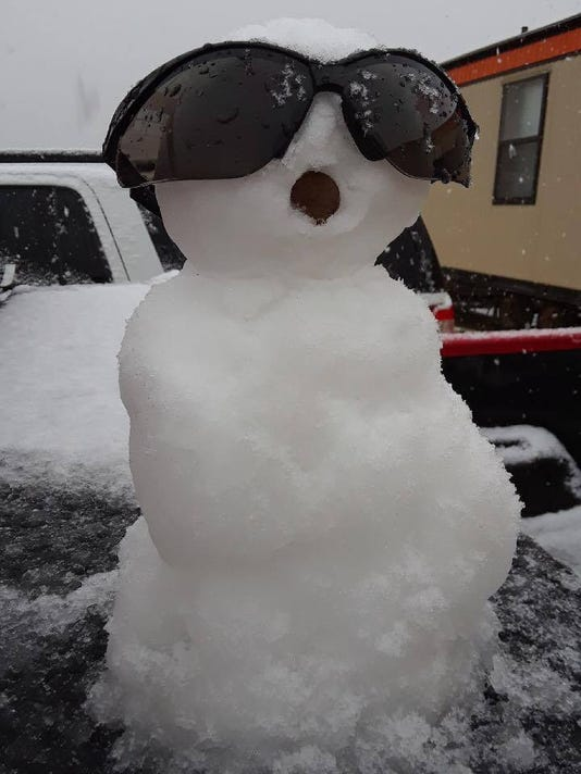 tiny snow man