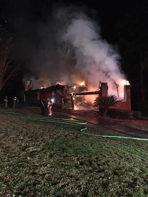A house fire on Dec. 8 caused about $575,000 in damages.