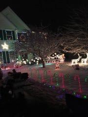 Steve Robinson's house in Bear is across the street