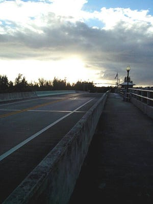 The Hobe Sound Bridge was closed for several hours Friday.