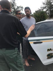 Martin County Sheriff's deputies arrest Dylan Frost.