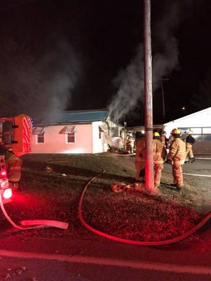 Firefighters responded to Conewago Avenue in Newberry Township at 4:42 a.m. on Friday morning for a fire. Two adults were displaced, according to York County 911.