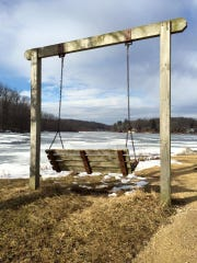 Lake Macbride State Park is shown pn Jan. 19. 2015.