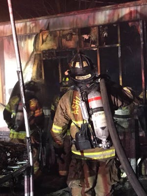 """All occupants made it out of their Ashland City home safely, but """"lost everything"""" to a structure fire early Thursday morning, the Ashland City Fire Department reported."""