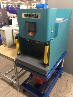 Ellsworth Adhesives has provided a Mold Man Machine to Arrowhead High School.