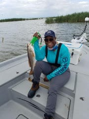 Cancer survivor Anita Taylor's summer fishing trip gave her a chance to take her mind off of chemotherapy and caring for an aging mother.