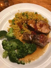Indian-Roasted Pork Tenderloin with Curry-Chutney and