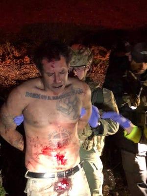 Ronnie Lucas Wilson being arrested Jan. 13, 2018.
