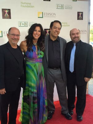 Dr. Lorne Label, a neurologist in Thousand Oaks, right, is shown with other Fit 4 The Cause board members David Kestenbaum, Cindy Rakowitz and Christopher Woo. Rakowitz is the founder of Fit 4 The Cause.