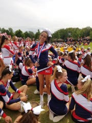 """Concetta Strouse won 1st Place in the """"Top Gun"""" Dance"""