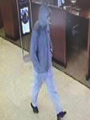 On January 18, 2018 at approximately 4:15 PM, the Chas Bank located on Martin Truex Jr. Boulevard in Manahawkin was robbed by an unknown male subject. It is apparent, the subject had a lollipop in his mouth.