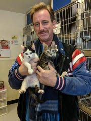 Thanks to the Somerset Regional Animal Shelter, these two kittens have found a new home with Christopher Orzolek.