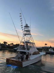 Showtime! owned by Fred and Nancy Hardwick of Sailfish Point and skippered by Capt. Wink Doerzbacher scored 21 sailfish releases out of 25 bites on a day last year in just four hours of fishing time.